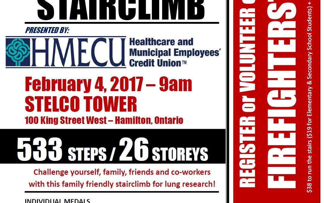Stair Climb Poster