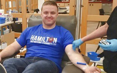 HPFFA Donates Blood this March Break