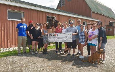 HPFFA donates to TEAD