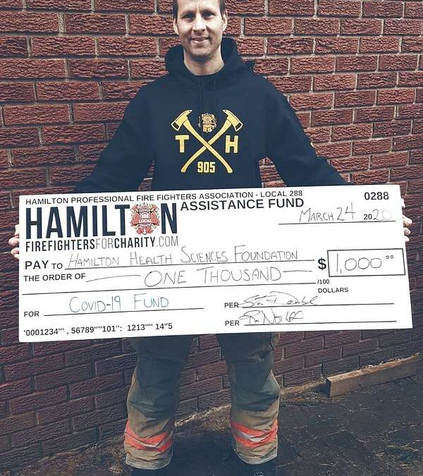 March Donations helping #HamOnt