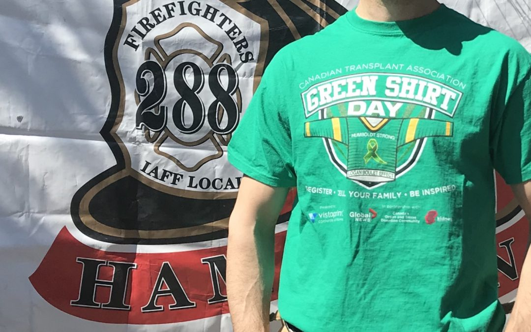 #GreenShirtDay