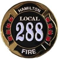 Local 288 Challenge coin (front)