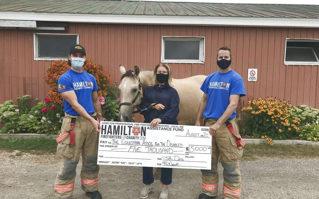 HPFFA Donates to support TEAD Therapy Horse