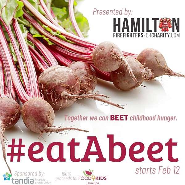 #eatAbeet for Food4Kids Hamilton