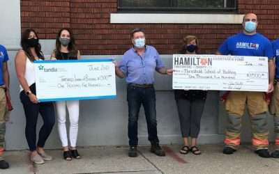 HPFFA donates to Threshold School of Building
