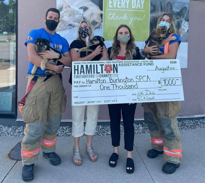 HPFFA donates to SPCA Wiggle Waggle fundraiser